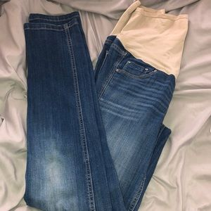 Old Navy Skinny Maternity Jeans